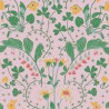 Narcisse wallpaper - Nobilis color pink COS232
