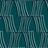 Tempera wallpaper - Nobilis color turquoise COS193