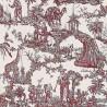 Guatan fabric - Etro color rosso 6545-1-2