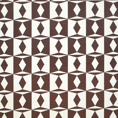 Manises fabric - Gaston y Daniela color marron GDT-4895-004