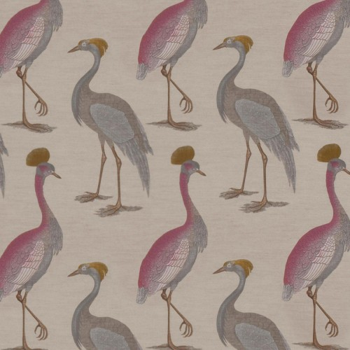 Garzas fabric - Gaston y Daniela color fondo lino GDT-3975-003