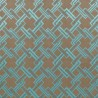 Los Angeles fabric - Gaston y Daniela color beige / turquesa GDT-5150-002