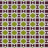 Collins Avenue fabric - Gaston y Daniela color verde / morado GDT-5141-004