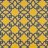 Meridien Avenue fabric - Gaston y Daniela color gris / amarillo GDT-5138-001