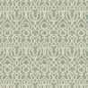 Barrowgate wallpaper - Thibaut color aqua T4714