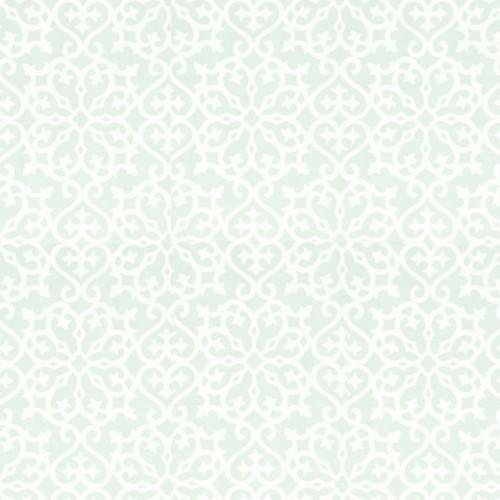 Allison wallpaper - Thibaut color aqua T1832