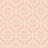 Allison wallpaper - Thibaut color coral T1831