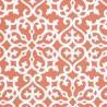 Allison wallpaper - Thibaut color persimmon T35179