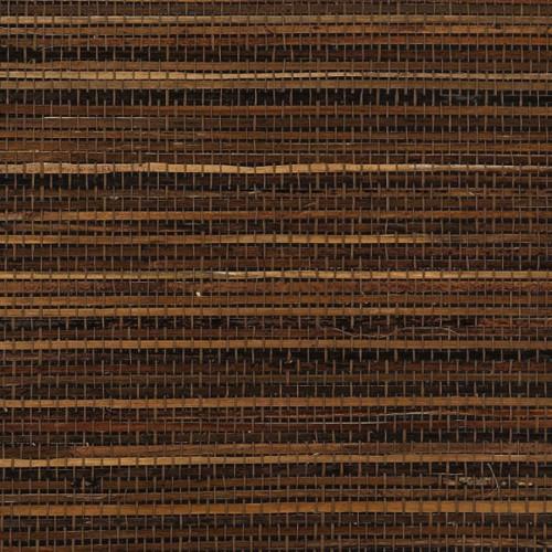Bac Bac wallpaper - Thibaut color black T3670