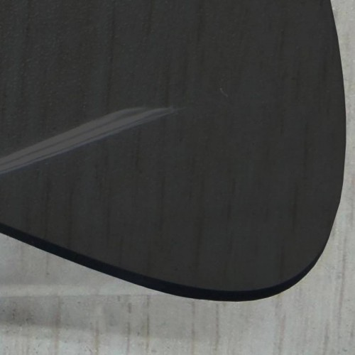 Convertible rear window smoke color