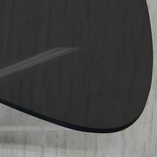 Transparent lunette arriere cabriolet coloris noir fumé