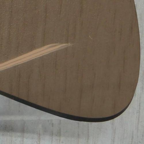 Transparent lunette arriere cabriolet coloris bronze