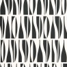 Papier peint Bottles - MissPrint coloris black / white MISP131-1
