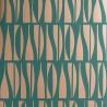Papier peint Bottles - MissPrint coloris hunter green MISP131-3