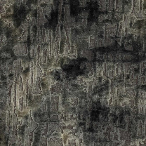 Aura velvet fabric - Jane Churchill color charcoal J0029-04