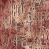 Aura velvet fabric - Jane Churchill color pink J0029-03