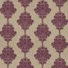 Arturo Damask wallpaper - Thibaut color purple T1301-6