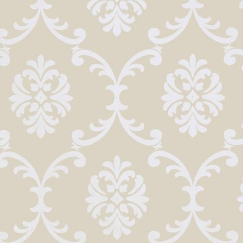 Bastille wallpaper - Thibaut color beige T1303-4