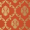 Bastille wallpaper - Thibaut color coral T1303-7