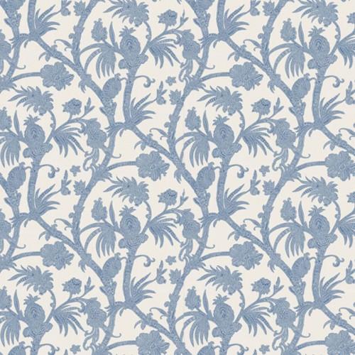 Baltimore wallpaper - Thibaut color blue T130-59