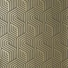 Chicago wallpaper - Nobilis color beige / black COS4-3