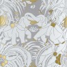 Dar Es Salam wallpaper - Nobilis color silver / gold COS32