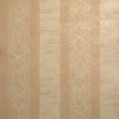 Rayure Vizir wallpaper - Nobilis color dark beige DE21305