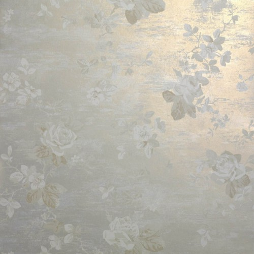 Pergola wallpaper - Nobilis color gray / gold DE21600