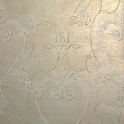 Volute wallpaper - Nobilis color beige / gold DE21805