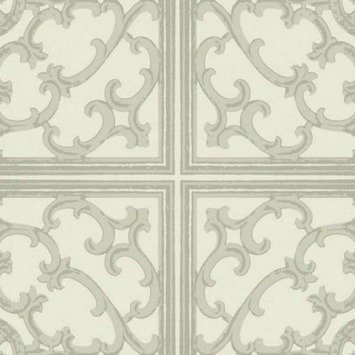 Caissons wallpaper - Nobilis color gray ABS71