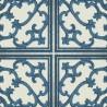 Caissons wallpaper - Nobilis color blue ABS72