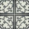 Caissons wallpaper - Nobilis color black ABS73