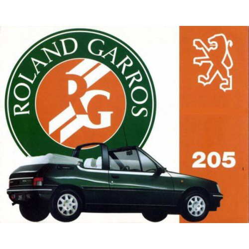 Convertible tops and accessories for Peugeot 205 Roland Garros convertible
