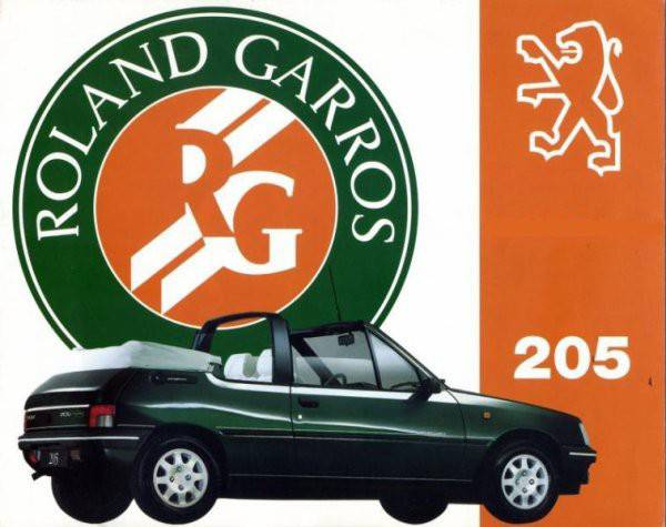 convertible tops and accessories for peugeot 205 roland garros