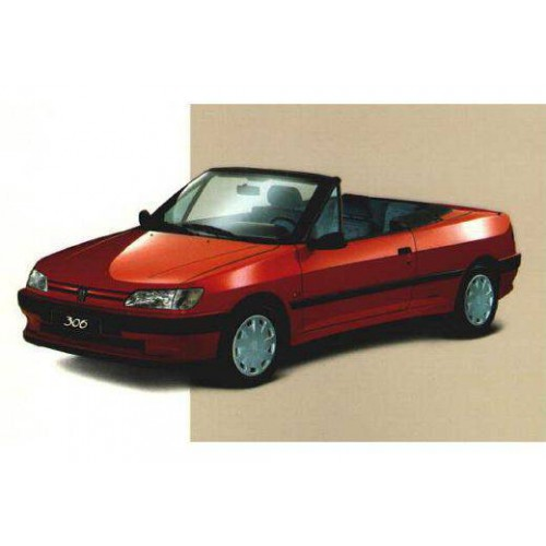 Convertible tops and accessories for Peugeot 306 convertible