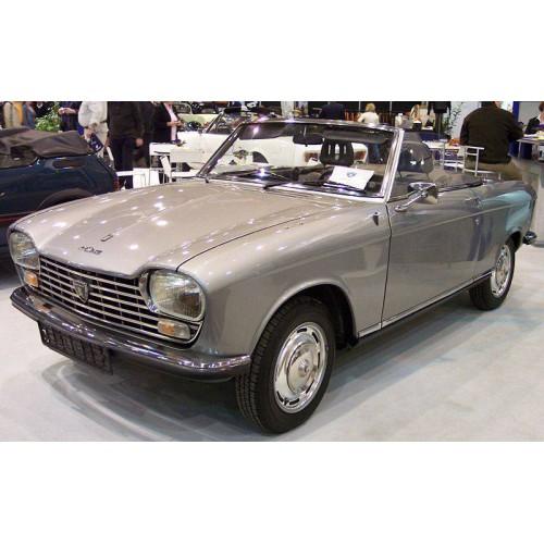 Capote pour Peugeot 204 Cabriolet