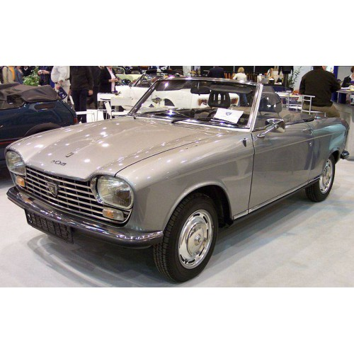 Convertible tops for Peugeot 204 convertible