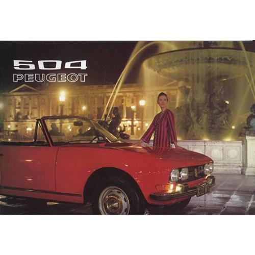 Capote pour Peugeot 504 Cabriolet