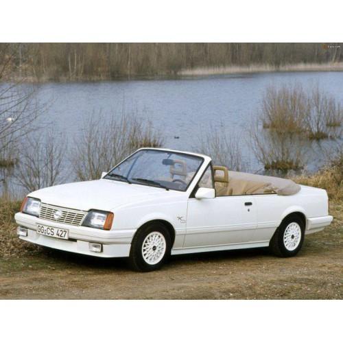 Convertible tops for Opel Ascona Keinath convertible