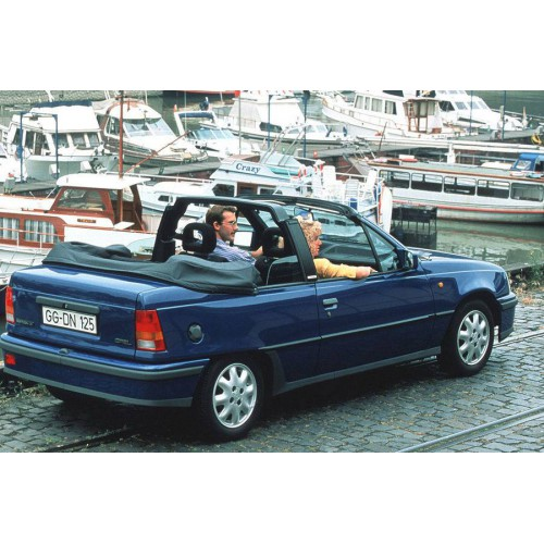 Convertible tops and accessories for Opel Kadett E convertible