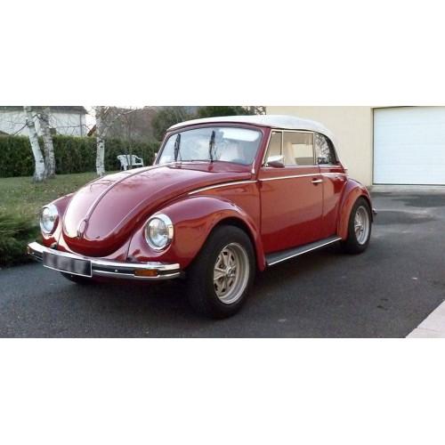 Convertible tops and accessories for Volkswagen Beetle 1302 convertible