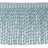 Frange moulinée simple 35 cm collection Plaza - Houlès color Sky blue  33099/9600