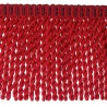 Frange moulinée simple 35 cm collection Plaza - Houlès color Fire  33099/9500