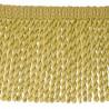 Frange moulinée simple 35 cm collection Plaza - Houlès color Green gold 33099/9700