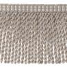 Frange moulinée simple 35 cm collection Plaza - Houlès color Platinum 33099/9820