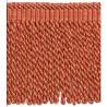 Frange Torses 21 cm collection Villandry - Houlès color Orange 36039/9325