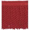 Frange Torses 21 cm collection Villandry - Houlès color Red 36039/9333