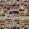 Agency fabric - Kvadrat color Persimmon 466001-08