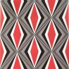 Caleidoscopio wallpaper - Gaston y Daniela color Red GDW-4847-001