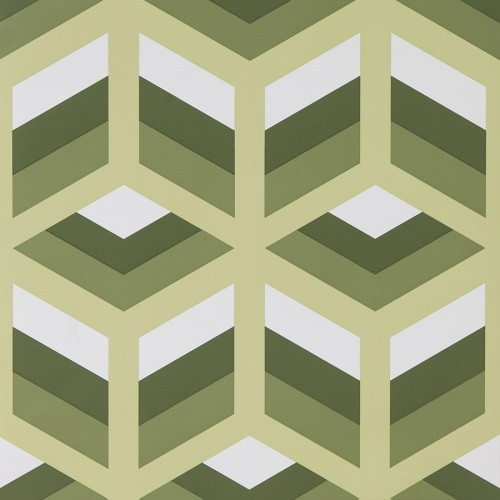 Xabi wallpaper - Gaston y Daniela color Green GDW-5248-004